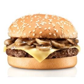 """Бургер с Шампиньонами """"Prospector"""" + картофель на выбор"""